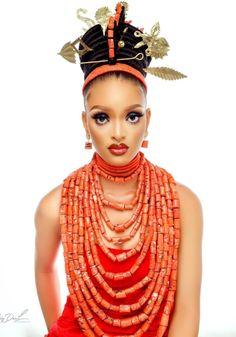 Nigerian Traditional Wedding, Traditional Wedding Attire, Traditional Weddings, African Beauty, African Fashion, African Wedding Attire, Queen, Bridal Beauty, Fashion Beauty