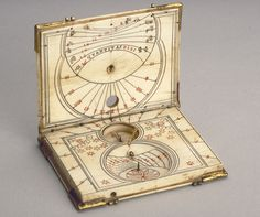 Diptych Dial by Thomas Tucher, c.1590