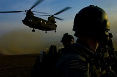 Members of an Afghan-international security force prepare to board a Chinook after completing a mission in the Muhammad Aghah district, Logar Province, Afghanistan, Feb. (Department of Defense photo by U. Military Special Forces, Us Military, Us Army Rangers, 75th Ranger Regiment, Chihuahua Mexico, Special Operations Command, Army Sergeant, Us Coast Guard, Us Marine Corps