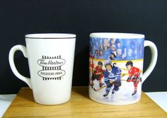 Vintage Tim Hortons Cups Lot Of Two One Original And One Collector Series Mug S Cup, Tim Hortons, The Collector, Tea Cups, Mugs, The Originals, Store, Tableware, Vintage