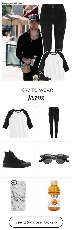 """""""#2068"""" by sofi-camachod on Polyvore featuring River Island, Converse, Jil Sander, Casetify, Retrò, 5sos, lukehemmings, 5secondsofsummer and 5sosoutfits"""