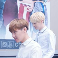 OMG Hoseok's hair <3 And Yoongi swaggy af as aways ^^