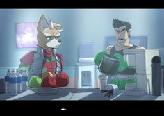 Really fooled me there nintendo. Crack a Star Fox Joke then come out and just casually reveal working on a new STAR FOX title f. StarFox at Barrel Roll, Little Mac, Star Fox, Punch Out, New Star, Stars, Anime, Deviantart, Sterne