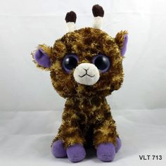 "TY Beanie Boo Buddies Safari the Giraffe 2010 Plush Stuffed Beanbag Toy 10"" #Ty"