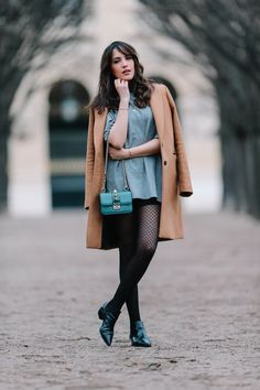 These Street Style Stars Will Convince You to Get Out Your Black Tights