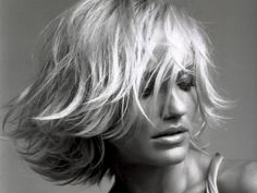 Black And White Hair | Free HD wallpaper, black and white, Cameron Diaz, hair