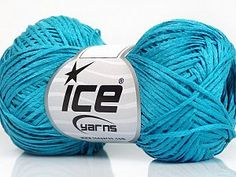 Yarn Lot Of 6 Skeins Ice Yarns Camilla Cotton Mercerized Cotton) Wool Turquoise & Garden Tapestry Crochet, Crochet Yarn, Cheap Yarn, Ice Yarns, Online Yarn Store, Hand Knitting Yarn, Yarn For Sale, Crochet Supplies, Tropical