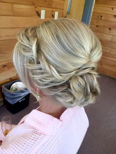 Fishtail Braid Updo Hairstyle | Bridal Updo Inpsiration | Hairstyle Idea | Cherry Blossom Belle
