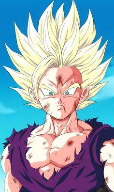 Dragon Ball Gt, Ball Drawing, Character Design Animation, Animes Wallpapers, Anime Comics, Cartoon, Fan Art, Super Saiyan, Dbz Gohan