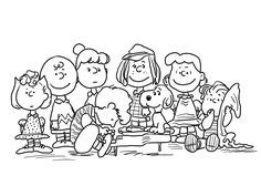 Charlie Brown and friends coloring pages for kids, printable free - Coloring Book