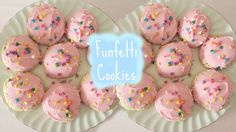 Hello my lovely cupcakes! Today i'm showing you how to make funfetti cookies, YUMMM! Be sure to give this video a thumbs up if you like it:) Where I get my g...