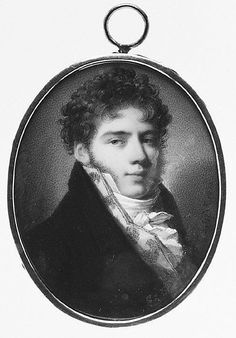 Count Alexander Ivanovich Sollogoub (1788–1844) by Domenico Bossi (Italian, Venetian, 1765–1853). Miniature on ivory, 1810. The Metropolitan Museum of Art, 1972.145.7