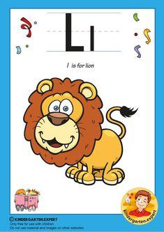 L is for lion, kindergarten expert, free printable Letter P Activities, Alphabet Worksheets, Alphabet Letters, Preschool Worksheets, Preschool Activities, L Is For Lion, Letters For Kids, Free Printables, Kindergarten