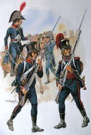 Fucilieri del 9 rgt. fanteria leggera francese