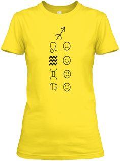 Sagittarius Love Tees Light Daisy T-Shirt Front
