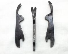Hare+Bottle+Opener+hand+forged+steel+bottle+opener+by+Taitaya,+£39.00