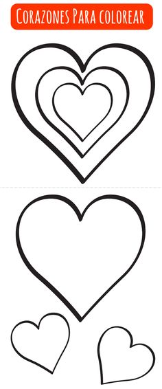 Half heart pattern Use the printable outline for crafts, creating
