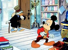 Man who was the voice of Mickey Mouse dies - with his wife, the ...