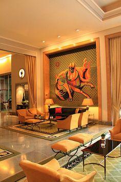 Hotel de luxo em Lisboa Salão Almada Negreiros Patricia de Camargo #blog #lisboa