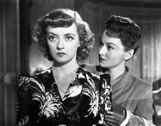 Bette Davis and Olivia de Havilland in In This Our Life (Warner Bros., 1942)