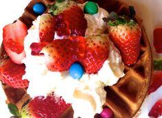 Strawberry waffle :))