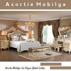 Şık bir yatak odası için onlarca alternatif sunan yatak odası takımları Asortie'de sizleri bekliyor.