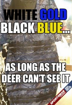 End of debate... #TheDress