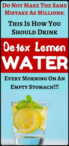 Drinking Warm Detox Lemon Water Every Morning – The Mistake Millions of People Make - Healthy News Mag Lemon Water In The Morning, Drinking Lemon Water, Blender Bottle, Digestion Process, Sour Taste, Water Recipes, Natural Health Remedies, How To Squeeze Lemons