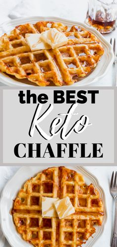 Keto Chaffle Recipe - This is my favorite recipe for the orginial keto chaffle. If you miss waffles on the keto diet, yo Ketogenic Recipes, Low Carb Recipes, Diet Recipes, Healthy Recipes, Keto Waffle, Waffle Recipes, Egg Waffle Recipe, Pancake Recipes, Crepe Recipes