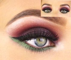 Love the color! All drug store items. By: Jaclyn Hill on Youtube