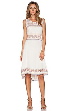 Tularosa Canyon Dress in Ivory