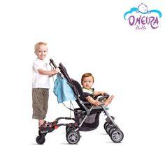 Οι πιο ξένοιαστες βόλτες με το μικρό και το μεγαλύτερό σας παιδί , είναι ένα… σκαλί μακριά! Αυτό το mini σκαλοπατάκι εγγυάται γρήγορες και ασφαλείς μετακινήσεις και ταυτόχρονο έλεγχο και των 2️⃣ παιδιών, αποτελώντας την ιδανικότερη λύση για βόλτες σε μέρη με πολυκοσμία! Βρέφος στο καρότσι, νήπιο στο σκαλί και… φύγαμε!! #OneiraBebe #BuggyBoard #StrollerStep Baby Strollers, Children, Baby Prams, Young Children, Boys, Kids, Prams, Strollers, Child