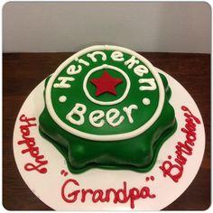Heineken beer cap cale