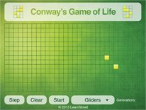 Conway's Game of Life is a zero-player game from the 1970s which, using a few simple rules, simulates how a an initial starting 'population' of cells progress through successive generations. Code the methods and recreate this famous simulation game!