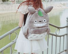 "I would want a Totoro backpack.... How many people would just ask, ""What on earth is on your backpack?"""