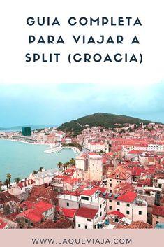 ¿VIAJAS A SPLIT? ENTONCES MEGA GUIA ES PARA TI, AQUI ESTA TODO LO QUE NECESITAS PARA TU VIAJE. #split #croacia #guiasdeviaje #consejosdeviaje #tipsdeviaje #viajes #blogdeviaje Travel And Leisure, Travel Tips, Croatia Island Hopping, Croatia Travel Guide, Travel Aesthetic, Dubrovnik, Wonderful Places, Travel Inspiration, Travel Destinations