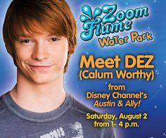 Calum Worthy Meeting Fans In New York August 2014 Calum Worthy, Austin And Ally, August 2nd, Disney Stars, Disney Channel, Dreamworks, Fans, New York, New York City