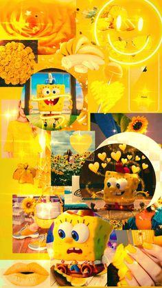 Cute SpongeBob wallpaper 💛💛💛 made by tahoora Ebrahimi 🥰