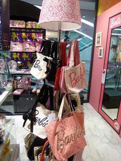 Barbie Tote bags & lamp! by Pop Life Ken, via Flickr