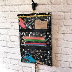 Hanging Organizer Vinyl Pocket Organizer Art Supplies