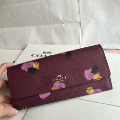 Coach Wallet Coach Wallet 100% Authentic. New Coach Bags Wallets