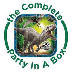 Let 39 s throw a jurassic world theme party with dinosaurs chris pratt - Jurassic park builder decorations ...