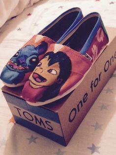 Lilo & Stitch TOMS XD My Valentine's Gift ☺️❤️✌️
