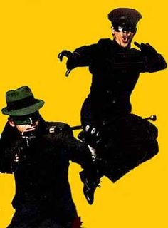 Van Wilson as The Green Hornet and Bruce Lee as Kato 1966