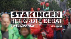 Stakingen: Het Grote Debat bij VTM