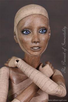 Mummy The Pursuit of Immortality - Mumie Das Streben nach Unsterblichkeit - by Sabine Vogel