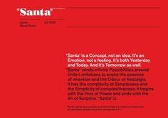 Santa Brand Book-21741472 | i heart brand | via Slideshare.  Brand guidelines parody.