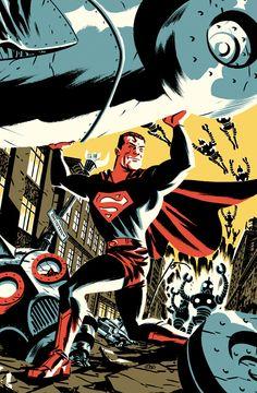 Superman por Michael Cho.