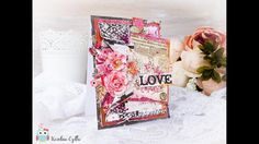 LOVE CARD - cardmaking tutorial by Karolina Czołba