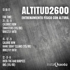 """137 gilla-markeringar, 2 kommentarer - Altitud2600 (@altitud2600) på Instagram: """"#crossfit #calories #caridio #endurance #gym #getfit #fitness #wod #workout #weightlifting"""""""
